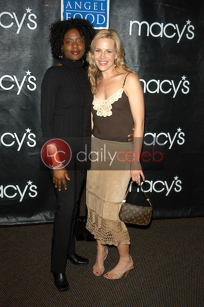 Nikki Crawford and Julie Benz