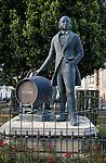 Tio Pepe statue Jerez de la Frontera, Cadiz province, Spain