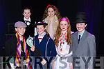 Aoife Roche, Ella Fitzgerald, Caoimhe Scanlon, Ailbhe Fleming, Doireann O'Sullivan and Jessica O'Loughlin the main cast members of the Currow NS parents association musical Mary Poppins  in Killarney Racecourse on Sunday