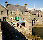 The Lodberrie, traditional fishing warehouse building, Lerwick, Shetland Islands, Scotland