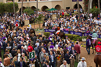 DEL MAR, CA - NOVEMBER 03: on Day 1 of the 2017 Breeders' Cup World Championships at Del Mar Thoroughbred Club on November 3, 2017 in Del Mar, California. (Photo by Casey Phillips/Eclipse Sportswire/Breeders Cup)
