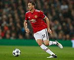 Nemanja Matic of Manchester United during the Champions League Group A match at the Old Trafford Stadium, Manchester. Picture date: September 12th 2017. Picture credit should read: Andrew Yates/Sportimage