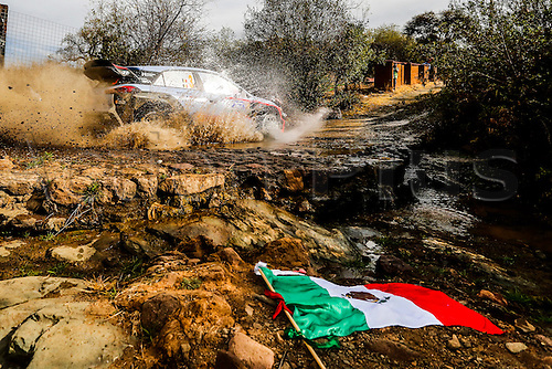 03.03.2016. Leon, Mexico. WRC rally of Mexico. Shakedown and SS1 and SS2.  Thierry Neuville (BEL) and Nicolas Gilsoul (BEL) - Hyundai I20 WRC