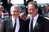 CANNES, FRANCE - MAY 15: Vincent Lindon, director Stephane Brize attend the screening of 'In War (En Guerre)' during the 71st annual Cannes Film Festival at Palais des Festivals on May 15, 2018 in Cannes, France<br /> 15-05-2018 Cannes <br /> 71ma edizione Festival del Cinema <br /> Foto Panoramic/Insidefoto