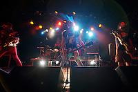 The Punkband Los Disckolos from Argentina live at the SO36.<br /> 25.7.2013, Berlin<br /> Copyright: Christian-Ditsch.de<br /> [Inhaltsveraendernde Manipulation des Fotos nur nach ausdruecklicher Genehmigung des Fotografen. Vereinbarungen ueber Abtretung von Persoenlichkeitsrechten/Model Release der abgebildeten Person/Personen liegen nicht vor. NO MODEL RELEASE! Don't publish without copyright Christian-Ditsch.de, Veroeffentlichung nur mit Fotografennennung, sowie gegen Honorar, MwSt. und Beleg. Konto:, I N G - D i B a, IBAN DE58500105175400192269, BIC INGDDEFFXXX, Kontakt: post@christian-ditsch.de<br /> Urhebervermerk wird gemaess Paragraph 13 UHG verlangt.]