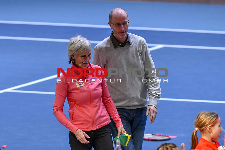 04.01.2018, Estrel Congress Center, Berlin, GER,  Internationaler DTB Tenniskongress 2019 <br /> <br /> im Bild Judy Murray und Matthias Stach<br /> <br /> Foto &copy; nordphoto/Mauelshagen