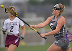 Belleville's Olivia Futrell takes a shot on the Lockport goal. Belleville played Lockport in a quarterfinal game of the O'Fallon sectional at O'Fallon Sports Park on Monday May 20, 2019. <br /> Tim Vizer/Special to STLhighschoolsports.com