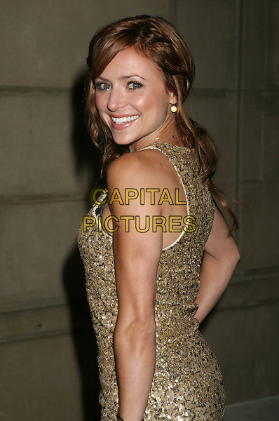 CHRISTINE LARKIN.In Touch Weekly's Summer Stars Party 2008 held at Social Hollywood, Hollywood, California, USA,  .22 May 2008..half length gold top sequined back over shoulder.CAP/ADM/MJ.©Michael Jade/Admedia/Capital Pictures