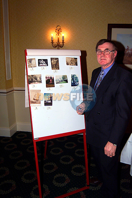 Noel Foley at the talk on John Cassidy in the Cunynghan Arms ...Pic Tony Campbell/Newsfile