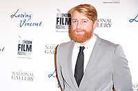 Director Hugh Welchman at the London Film Festival 2017 screening of &quot;Loving Vincent&quot; at the National Gallery, Trafalgar Square, London, UK. <br /> 09 October  2017<br /> Picture: Steve Vas/Featureflash/SilverHub 0208 004 5359 sales@silverhubmedia.com