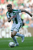 GRONINGEN - Voetbal, FC Groningen - FC Utrecht,  Eredivisie , Noordlease stadion, seizoen 2017-2018, 27-08-2017,   FC Groningen speler Lars Veldwijk