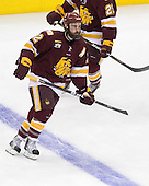 Jack Connolly (Duluth - 12) - The University of Minnesota-Duluth Bulldogs defeated the University of Michigan Wolverines 3-2 (OT) to win the 2011 D1 National Championship on Saturday, April 9, 2011, at the Xcel Energy Center in St. Paul, Minnesota.