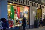Torino si prepara ai festeggiamenti per i 150 anni dell'unità d'Italia. Confetteria Roma già Talmone.