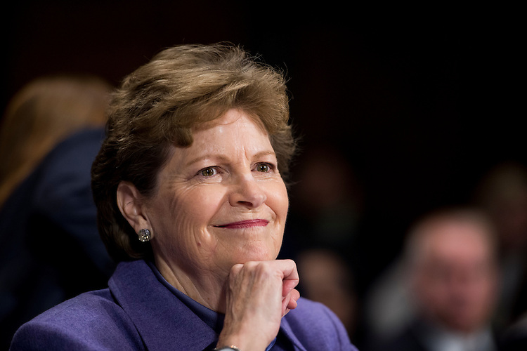 UNITED STATES - JANUARY 27: Sen. Jeanne Shaheen, D-N.H., testifies during the Senate Judiciary Committee hearing on the impact of heroin and prescription drug abuse on Wednesday, Jan. 27, 2016. (Photo By Bill Clark/CQ Roll Call)