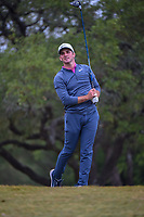 Denny McCarthy (USA) watches his tee shot on 2 during Round 3 of the Valero Texas Open, AT&T Oaks Course, TPC San Antonio, San Antonio, Texas, USA. 4/21/2018.<br /> Picture: Golffile | Ken Murray<br /> <br /> <br /> All photo usage must carry mandatory copyright credit (© Golffile | Ken Murray)