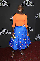 "20 September 2016 - Hollywood, California - Madina Nalwanga. ""Queen Of Katwe"" Los Angeles Premiere held at the El Capitan Theater in Hollywood. Photo Credit: AdMedia"