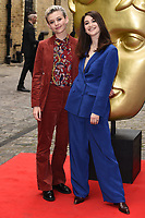 LONDON, UK. April 28, 2019: Ellen Robertson &amp; Charly Clive at the BAFTA Craft Awards 2019, The Brewery, London.<br /> Picture: Steve Vas/Featureflash
