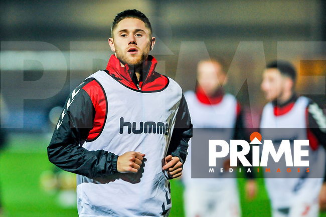 Fleetwood Town's forward Wes Burns (7) during the Sky Bet League 1 match between Fleetwood Town and Coventry City at Highbury Stadium, Fleetwood, England on 27 November 2018. Photo by Stephen Buckley / PRiME Media Images.
