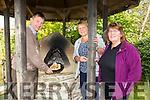 Enjoying the Annual Harvest Day at Shanakill/Rathoonane Comunity Organic Garden on Saturday were Junior Locke,  Breda Bambury and Mary Behan, Ballyduff