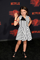 Brooklynn Prince at the premiere for Netflix's &quot;Stranger Things 2&quot; at the Westwood Village Theatre. Los Angeles, USA 26 October  2017<br /> Picture: Paul Smith/Featureflash/SilverHub 0208 004 5359 sales@silverhubmedia.com