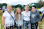 Maria, Sarah, Theresa and Karolina Data Milltown at the South Kerry Ploughing Championships in Fossa on Sunday