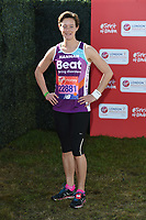 Hannah Richardson Walsh<br /> at the start of the 2018 London Marathon, Greenwich, London<br /> <br /> ©Ash Knotek  D3397  22/04/2018