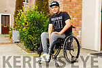 Josef Urbanszky from Killarney who uses an Exoskeleton in Cork.