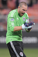 Colorado Rapids goalkeeper Matt Pickens (18)D.C. United defeated the Colorado Rapids 2-0 at RFK Stadium, Wednesday May 16, 2012.