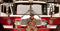 Buffalo Rescue Company 1 Firefighter Ray Krug retried after 30 years of service to the Buffalo Fire Department.