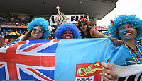 Fiji Fans, 2019 HSBC World Sevens Series Hamilton at FMG Stadium in Hamilton, New Zealand on Saturday, 26 January 2019. Photo: Kerry Marshall / lintottphoto.co.nz