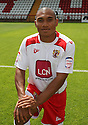 Darius Charles of Stevenage at the Stevenage FC team photo shoot at The Lamex Stadium, Broadhall Way, Stevenage on Saturday, 24th July, 2010.© Kevin Coleman 2010
