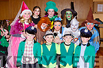 The cast from The Wizard of Oz musical by the children of Currow NS musical which was held in the KDYS Killorglin on Sunday front row l-r: Harry Crowley, Michael Curran, Cian Pembroke, Ben Brosnan. Middle Row: Evelyn Matthews, Amy Crowley, Amy Rose O'Sullivan, Muireann Donnelly, Sean Dennehy, back row: Emily Philpott, Katelyn Brosnan, Lauren Coffey