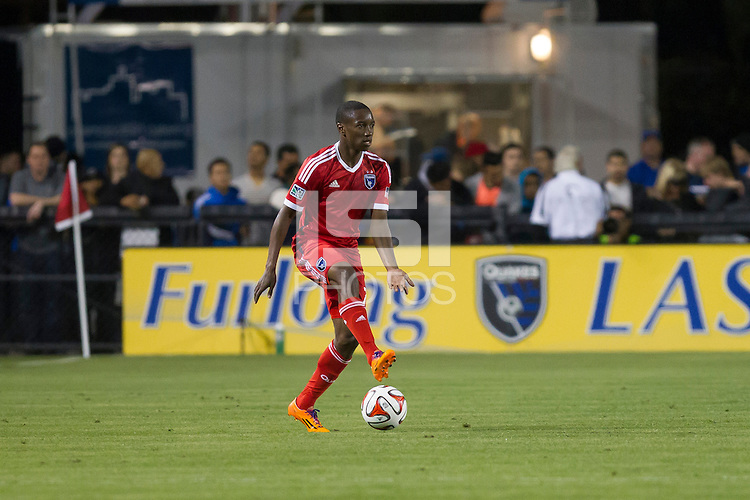 Santa Clara, California - March 15, 2014: The San Jose Earthquakes face off against Real Salt Lake for the home opening match at Buck Shaw Stadium.