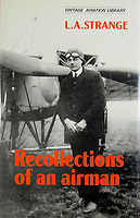 BNPS.,co.uk (01202 558833)<br /> Pic: ColinParr/BNPS<br /> <br /> The flying exploits of Strange were recalled in print.<br /> <br /> A war hero who was dubbed the 'bravest man in the world' has been remembered after his lost and abandoned grave was re-discovered.<br /> <br /> The family of Lieutenant Colonel Louis Strange held a moving ceremony in a churchyard after his grave was repaired, spruced-up and re-dedicated. <br /> <br /> Lt Col Strange was a highly-decorated aviator pioneer who served in both world wars and cheated death on two occasions 25 years apart.<br /> <br /> He was buried in a village churchyard in Worth Matravers, Dorset, with a simple gravestone that was found leaning over and covered in lichen.
