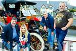 L-R Con Sheehan, Michaela Burke, Paul Sheehan&Vincent Burke enjoying the Kingdom Veteran, Vintage&Classic Car Club Annual Autumn run based in the Kenmare Bay Hotel last Saturday.