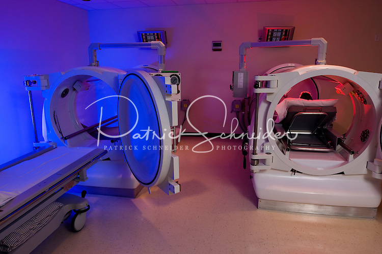 Hyperbaric Chamber at Lake Norman regional Hospital in Mooresville, NC.