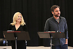 """Megan Hilty and Josh Radnor In Rehearsal with the Kennedy Center production of """"Little Shop of Horrors"""" on October 11 2018 at Ballet Hispanica in New York City."""