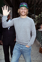NEW YORK, NY A- AUGUST 6: Wyatt Russell seen at Build Series in New York City on August 06, 2018. <br /> CAP/MPI/RW<br /> &copy;RW/MPI/Capital Pictures