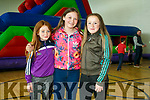Enjoying the The Active Kingdom  Family Fun Day in support of and in association with the 'Enable Ireland Kerry Services on Sunday were Breanna Coffey, Tori O Driscoll  and Allanah O'Driscoll