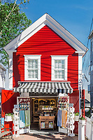 Charming shop along Commercial Street, Provincetown, Cape Cod, Massachusetts, USA.