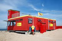 Reddingsbrigade  hulppost in Scheveningen