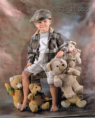 Interlitho, Alberto, CHILDREN, photos, boy, teddies(KL15655,#K#) Kinder, niños