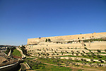 Israel, Jerusalem, a view of Kidron valley