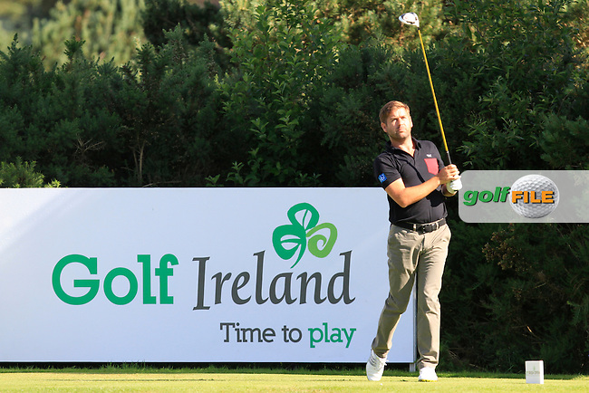 Robert Rock (ENG) on the 8th tee during Round 2 of the Irish Open at Fota Island on Friday 20th June 2014.<br /> Picture:  Thos Caffrey / www.golffile.ie