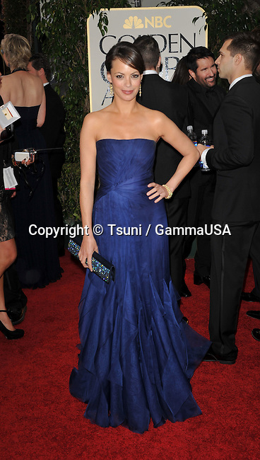 Berenice Bejo_663   at The 2012 Golden Globe Awards at the Beverly Hilton Hotel In Beverly Hills, CA