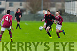 Action from St Brendans Park v Renmore of Galway in the U15 National Cup in Christy Leahy Park on Saturday.