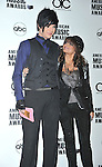 BEVERLY HILLS, CA. - October 13: Adam Lambert and Paula Abdul attends the 2009 American Music Awards Nomination Announcements at the Beverly Hills Hotel on October 13, 2009 in Beverly Hills, California.