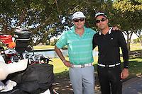 torneo de GOLF  de la Fundación de Sylvana Beltrones.<br /> <br /> Ariel Carranza (verde y Héctor woolfolk(negro )<br /> <br /> **Photo®©:LuisGutierrez/NortePhoto