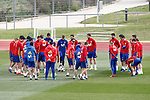 Spain's team during training session. March 22,2017.(ALTERPHOTOS/Acero)