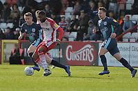 Moses Makasi of Stevenage during Stevenage vs Bury, Sky Bet EFL League 2 Football at the Lamex Stadium on 9th March 2019